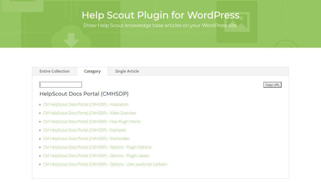 HelpScout Docs Portal - Front-End View