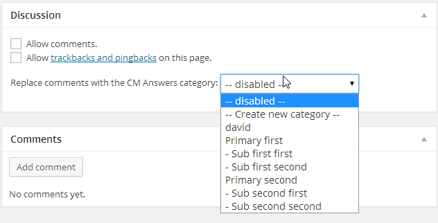 Setting in each page or post to replace WordPress comments with Q&A forum - Questions & Answers Plugin Works as Replacement for WordPress Comments
