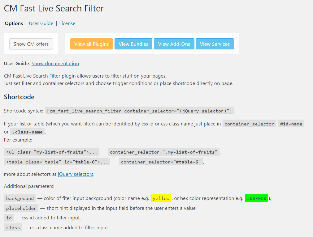 Fast Live Search Filter Plugin for WordPress by CreativeMinds