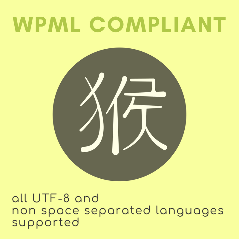 The perfect WordPress glossary for any language, UTF-8 and WPML compliant