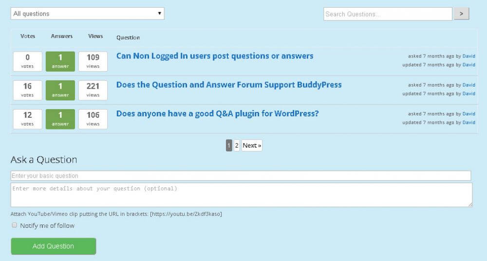 Advanced Features of the Best WordPress Forum plugin