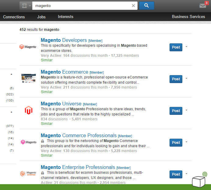 Finding a magento developer via linkedin - Gather Potential Magento Partners - How to Find a Good Magento Developer