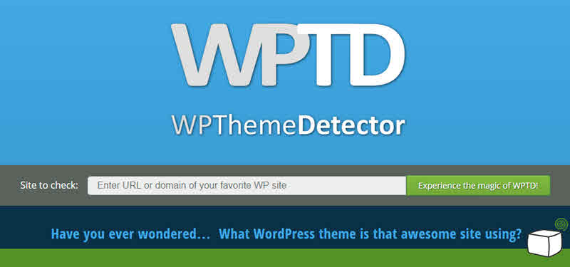 wp theme detector- choosing a theme for wordpress beginners