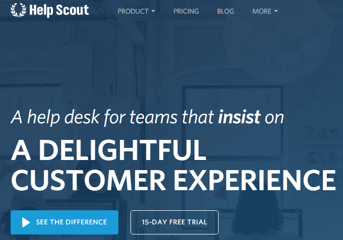 HelpScout - Give Support - Ultimate Guide to SAAS Services for your WordPress Site