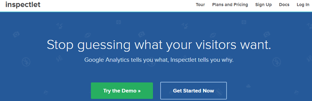 Inspectlet - Get to Know your Visitors - Ultimate Guide to SAAS Services for your WordPress Site