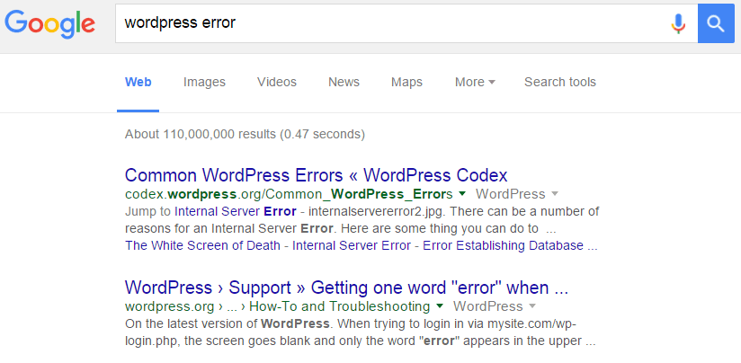 General Search - Where to Find Good WordPress Support