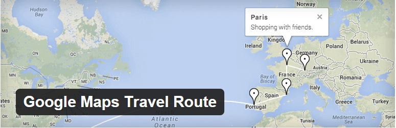 Google Maps WordPress plugin - Free - Top Plugins to Show Routes and Trails on a Map