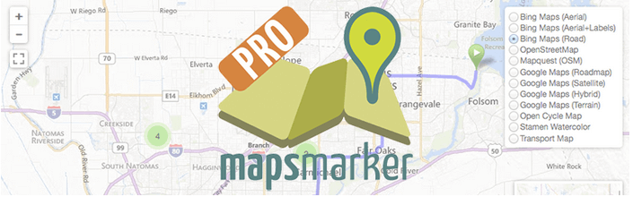 Mapsmarker WordPress plugin - Free - Top Plugins to Show Routes and Trails on a Map