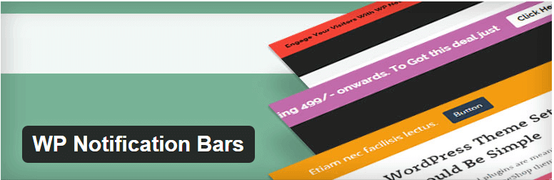 WP Notification Bars - 14 New Plugins to Make your WordPress Site Look Great