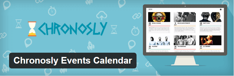 Chronosly Event Calendar - 14 New Plugins to Make your WordPress Site Look Great