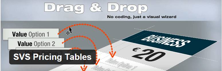 SVS Pricing Tables - 14 New Plugins to Make your WordPress Site Look Great