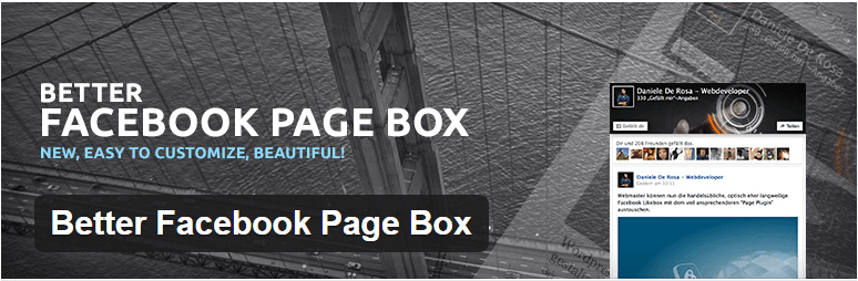 Better Facebook Page Box - 14 New Plugins to Make your WordPress Site Look Great