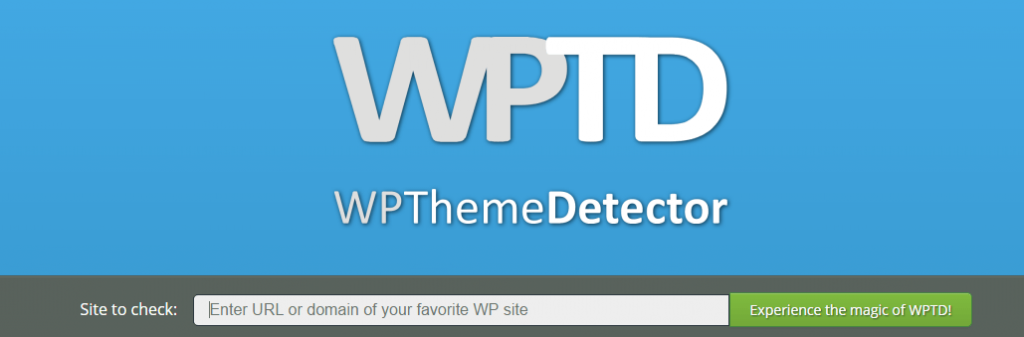 WPThemeDetector - Guide and Tools to Choose the Best WordPress Theme for your Site