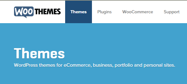 WooThemes screenshot - Guide and Tools to Choose the Best WordPress Theme for your Site