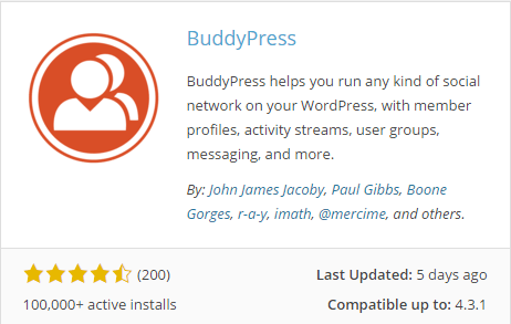 The appearance of a popular plugin on WordPress.org
