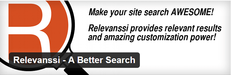 Relevanssi  - Free Plugins - Top 10 WordPress Search Plugins To Overhaul Searching