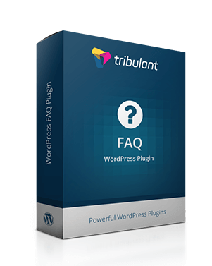 Tribulant FAQ WordPress Plugin - The 9 Best FAQ WordPress Plugins to Inform your Customers