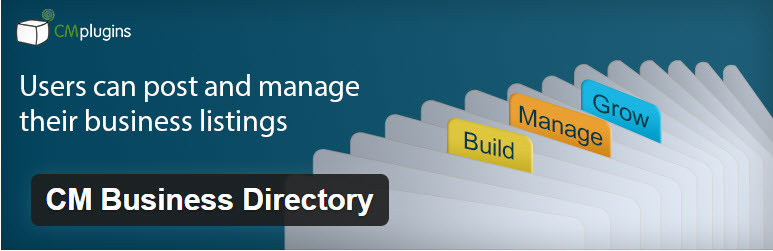 CM Business Directory - Top 5 WordPress Plugins to Create a Business Directory