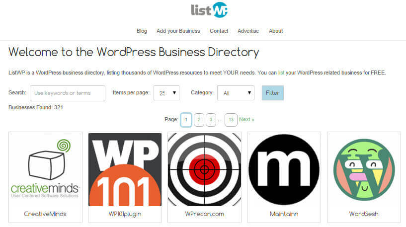 ListWP WordPress Business Directory - Top 5 WordPress Plugins to Create a Business Directory