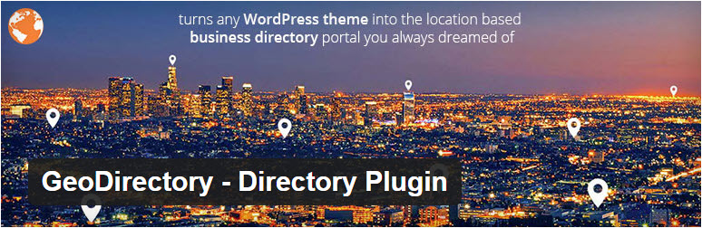GeoDirectory  - Top 5 WordPress Plugins to Create a Business Directory