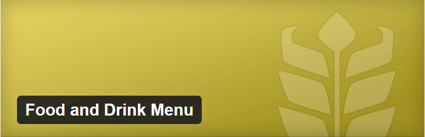 Food & Drink Menu - Creating an Awesome Travel Blog Using WordPress