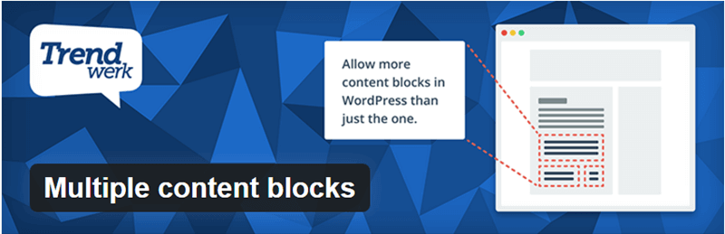 Multiple Content Blocks - 12 WordPress Plugins to Create Stellar Content & Drive Traffic
