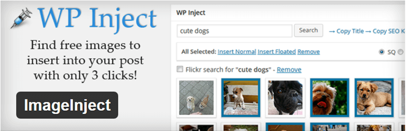 ImageInject - 12 WordPress Plugins to Create Stellar Content & Drive Traffic