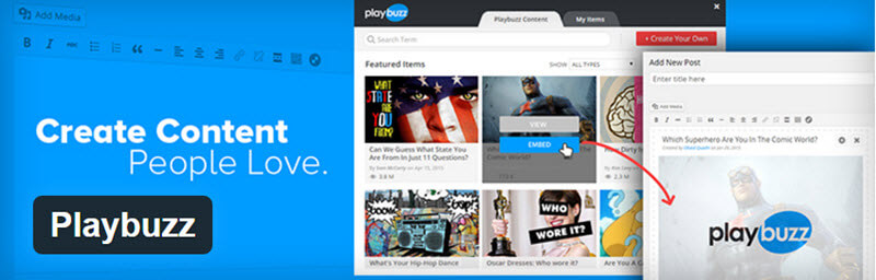 Playbuzz - 12 WordPress Plugins to Create Stellar Content & Drive Traffic