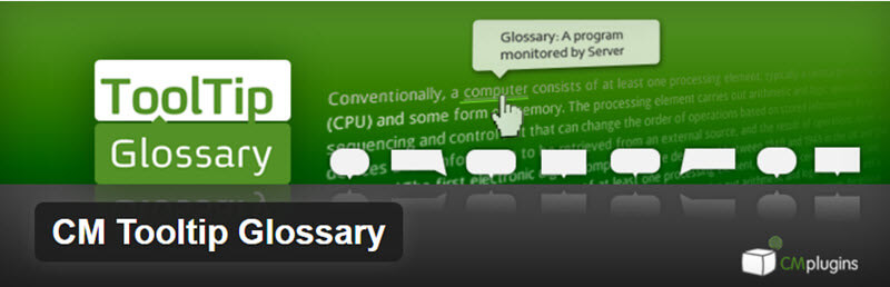CM Tooltip Glossary - 12 WordPress Plugins to Create Stellar Content & Drive Traffic