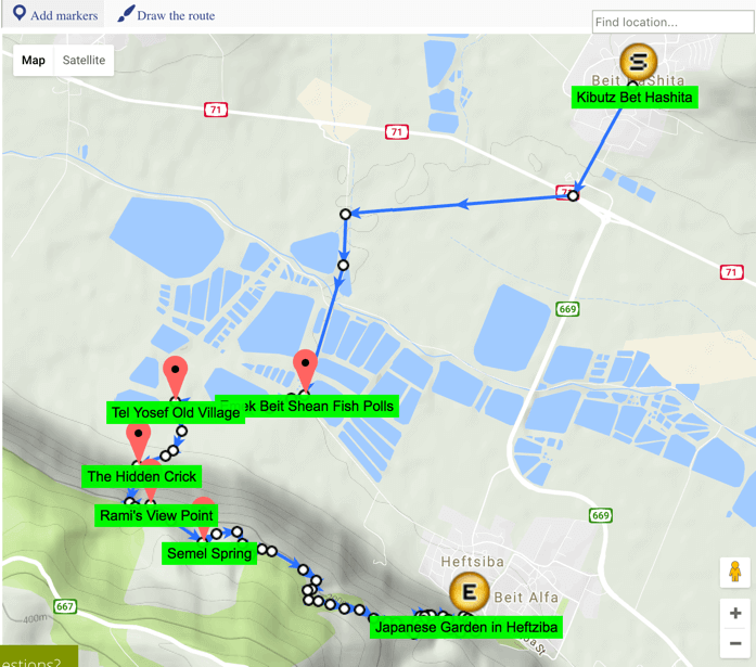 Superb Google Maps Route And Trail Builder WordPress Plugin - Google maps jogging route