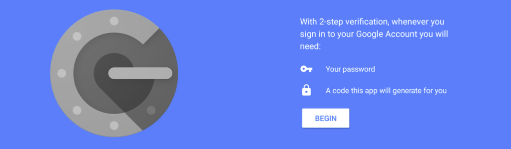 A setup screen for the Google Authenticator Mobile Application - Two-Factor Authentication: Protecting your WordPress Website