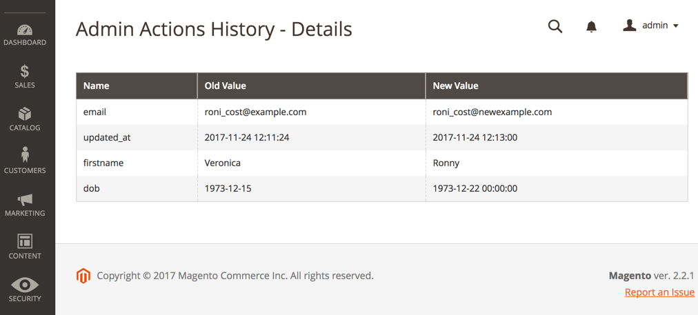 Manual Delete of logs result page