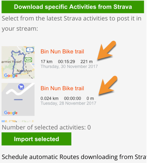 Routes Manager Strava Addon for WordPress