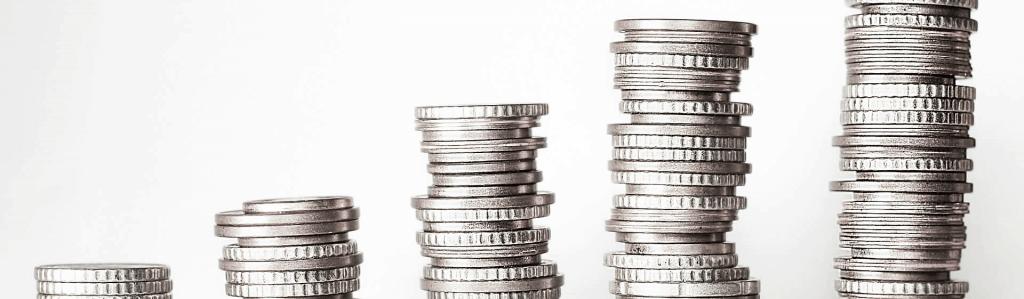 Money coins up blog