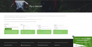CM Pop-Up Banners Plugin FlyIn Banner Example