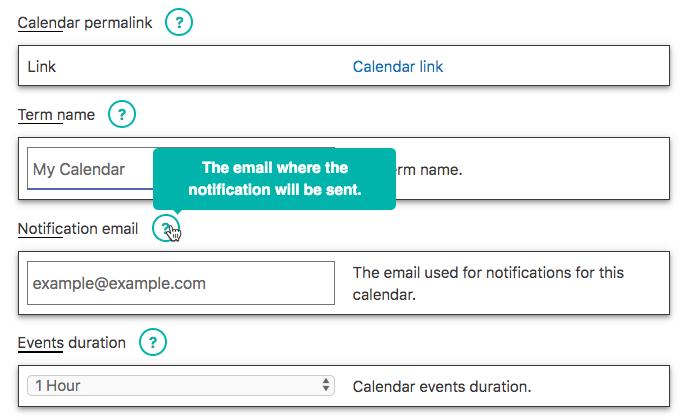 Settings Edit Interface