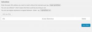 URL Filters