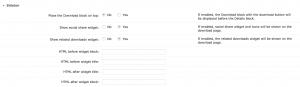 Download Page - Sidebar