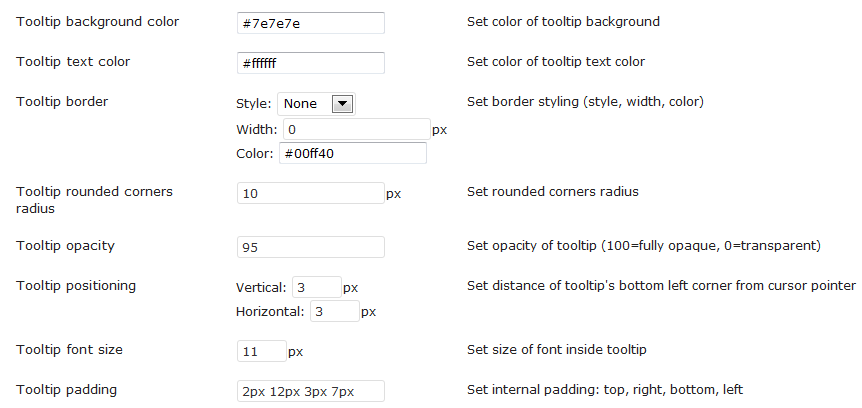 CM Tooltip Glossary User Guide