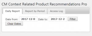 Context Related Product Rec. Pro