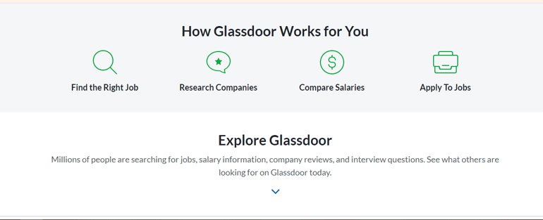 Glassdoor - Top 10 Types of Website You Can Create With WordPress in 2020