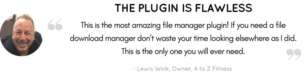 Flawless Plugin Testimonial