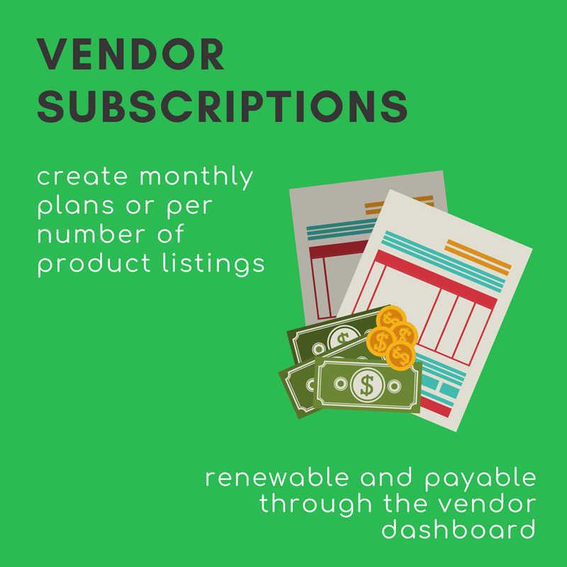 Vendor Subscriptions