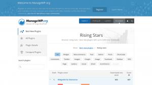 manageWP.org' Rising Stars