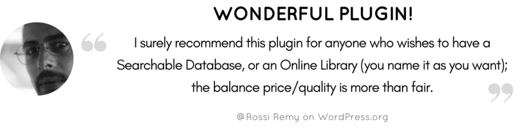 Wonderful Plugin Testimonial