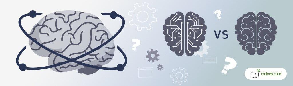Human brain vs. Machine brain - Machine learning, Deep learning and Human Intelligence against A.I.