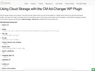 WP Ad Manager Demo- cloud storage