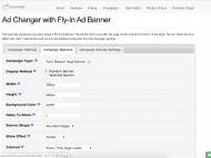 WP Ad Manager Demo - Fly-in