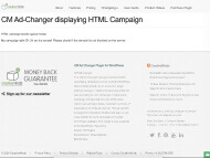 WordPress Ad Manager Demo - HTML campaign