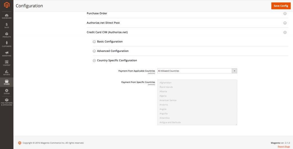 Admin Configuration 3